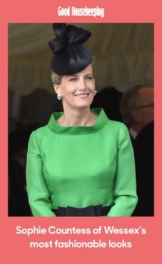 Kate and Meghan aren't the only royal style icons to keep an eye on - Sophie, Countess of Wessex has also had plenty of fashionable moments over the years. Kate And Meghan, Good Housekeeping, Royal Fashion, Color Blocking, Style Icons, Floral Prints, In This Moment, Royal Style, Stylish