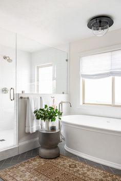 Our Favorite Before & Afters Bathroom Design Inspiration, Decoration Inspiration, Bathroom Interior Design, Design Ideas, Studio Mcgee, Closet Remodel, Bath Remodel, Bathroom Layout, Bathroom Colors