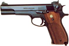Smith & Wesson M 52 .38 special semi-auto pistol