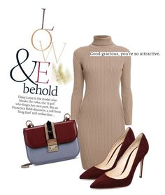 Wine and Camel by twinklepink on Polyvore featuring polyvore, fashion, style, Rumour London, Valentino, ASOS and clothing