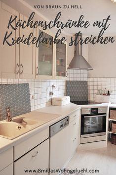 ENDLICH!: Neue Alte Küche Mit Kreidefarbe. Alte Küchenschränke Mit Kreidefarbe  Streichen ...