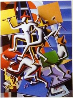 Regardless We Need Each Other 2014 by Mark Kostabi - Limited Edition Print Mark Kostabi, Norman Rockwell Art, Chip Art, Ad Art, We Need, Limited Edition Prints, Contemporary Artists, Art For Sale