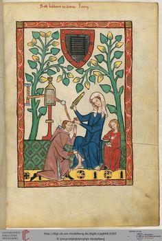 Große Heidelberger Liederhandschrift (Codex Manesse) Zürich 1300 - 1340