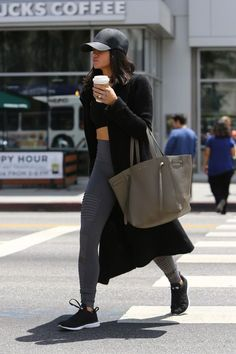 ideas for hair grey morenas winter outfits – readable-tray Coco Chanel, Jenna Dewan, Dressed To The Nines, Gym Style, Trends, Grey Fashion, Everyday Outfits, Cute Outfits, Sport Outfits