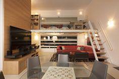 Vista a Estudio : Modern study/office by PLADIS