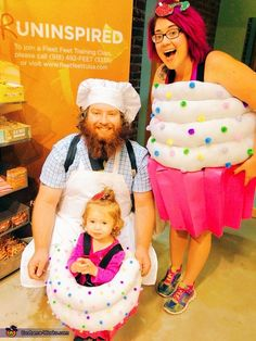 Casey: My family decided to be cupcakes with my husband, Andy, being the baker. I was set on dressing up our daughter, Lady, in a cupcake costume this year. I started...