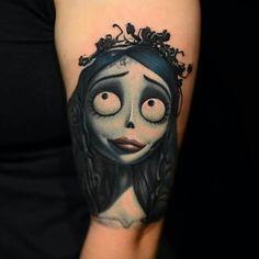 Nikko Hurtado - 'Corpse Bride ' Tattoo