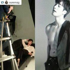 Sung Hoon on Nov. SURE Magazine