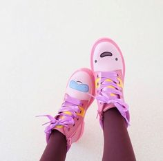 The Priness Bubblegum Boots, shared by inkainovia.