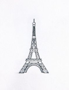 Eiffel Tower string art go and make one