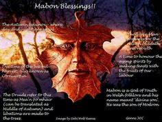 Mabon blessings from the Druids and Celts