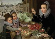 Lucas van Valckenborch (1535-1597) Flemish Renaissance painter ~ Blog of an Art Admirer