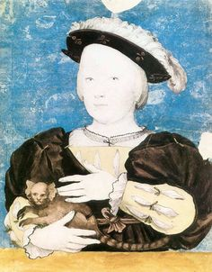 Hans Holbein the Younger — Edward, Prince of Wales, with Monkey, 1541, Hans...