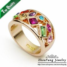 Austrian Crystal 4 Multi Sizes on AliExpress.com