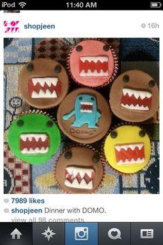 Domo cupcakes!