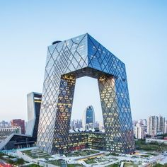 Rem Koolhaas architecture - CCTV HEADQUARTERS, BEIJING, CHINA (=)