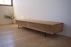 AL-TV Board – WORKS | 無垢材のオーダー家具は、長野県の家具工房「HUMP(ハンプ)」