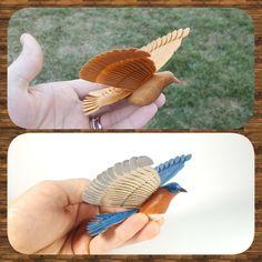 """Wood Fan Birds – """"the Art of Fan Carving"""" by Tony Gonzalez"""