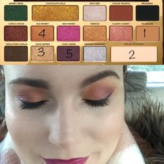 Too Faced Chocolate Gold Palette Tutorial