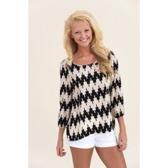 Pixel Me Pretty Blouse-Black - $42.00