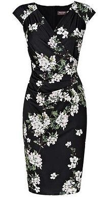 Phase Eight Camille Floral dress Size 18 This Season - Carobethany - 1