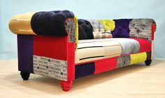 Suzani 2 seater sofa purple love van namedesignstudio op Etsy