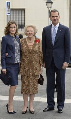 Queen of Spain, Queen Beatrice and King Felipe