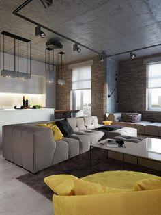 Moderne Wohnung Einrichten Schwarzer Kamin Beistelltisch Fernsehschrank |  Raumdesign | Pinterest | Schwarzer Kamin, Fernsehschrank Und Moderne Wohnung