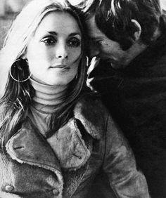 """sharontate-polanski: """"Sharon Tate and Roman Polanski, by Elisabetta Catalano """""""