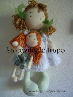 Muñeca Gaby y Anto