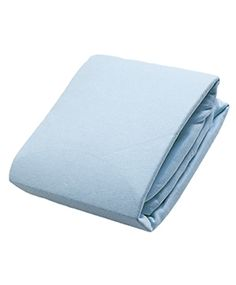 Flannel Fitted Crib Sheet | Blue