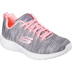 bf17595521a2 Women s Skechers Burst New Influence Athletic Shoe - Gray Coral... ( 66
