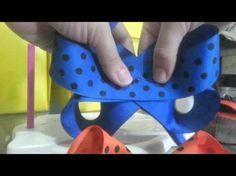 Laço Boutique Invertido - Laço de Fita de Gorgurão/Cetim - Twisted Boutique Bow - YouTube