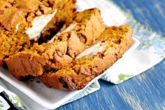 Yummy Gluten Free Cinnamon Pumpkin Bread