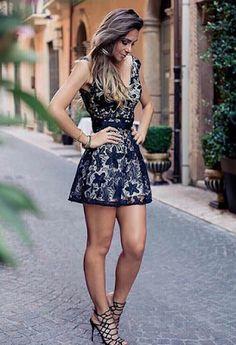 zapatos para vestidos cortos casuales