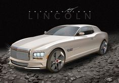 The spectacular, if I do say so myself, lol , Lincoln Continental Mark IX LSC Biturbo sports car concept. Fancy Cars, Cool Cars, Ford Motor Company, Lincoln Continental Concept, Jetta A4, Lincoln Town Car, Lincoln 2017, Futuristic Cars, Sweet Cars