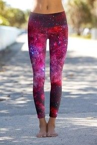 Awesome for Blacklight Yoga! Pink Galaxy Aztec Cluster - Printed Performance Leggings I'm not usually into vibrant colors or patterns, but these are pretty neat. Tight Leggings, Yoga Leggings, Yoga Pants, Galaxy Leggings, Aztec Leggings, Printed Leggings, Leggings Store, Workout Attire, Workout Wear