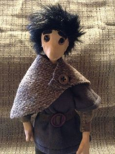 Zozimos, stop motion puppet,
