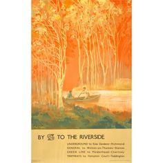 Freda Lingstrom travel poster
