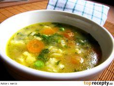 Blesková polévka s vaječnou jíškou