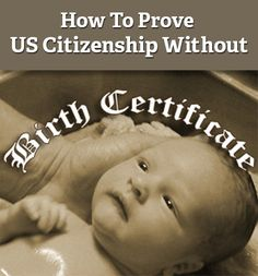 What to do if your birth certificate was never issued? Find out here how to get a #USPassport or proof #USCitizenship without #BirthCertificate.