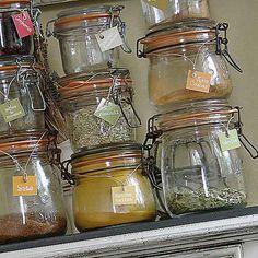 Etiquettes à épices
