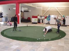 Yup. YouTube's #offices have indoor golfing