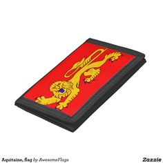 Aquitaine, flag trifold wallets