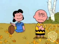 ▶ It's the Great Pumpkin Charlie Brown - Football - YouTube