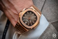 Patek Philippe Nautilus 5711:1R-001 - Rose Gold chocolate - 8