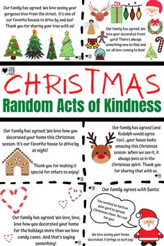 This Christmas random acts of kindness idea is the perfect way to also spend time as a family and create a new Christmas tradition for your family. You and your kids can spread kindness and Christmas cheer this December with these Random Acts of Kindness Christmas Ideas #randomactsofkindness #christmastraditions #randomactsofkindnesschristmas #christmasrandomactsofkindness #christmaskindnessforkids
