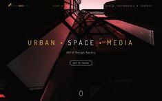 Urban Space Media Ui Ux Design, Design Agency, Urban, Space, Poster, Floor Space, Movie Posters
