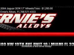 "2004 Jaguar OEM 17"" Wheels/Tires S-Type - for sale in Miami, Fl 33054"
