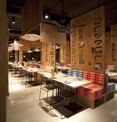 LAH restaurant, Madrid. MIO design